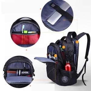 Image 4 - mochila Swiss Mens anti theft Backpack USB Notebook School Travel Bags waterproof Business 15.6 17 inch laptop backpack women