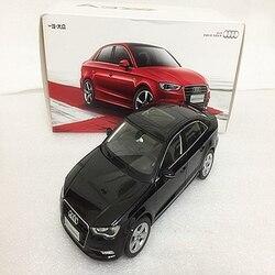 Белый/черный 1:18 Модель автомобиля Audi A3 2012 Седан сплав мини автомобиль миниатюрный автомобильный подарок коллекция