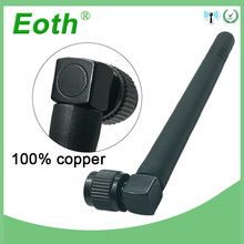 20pcs Wholesale 2.4GHz Antenna WIFI 3dbi SMA Male connector Aerial 2.4 ghz antena wi fi antenne black for Wireless wi-fi Router модем zte mf79 usb wi fi router черный