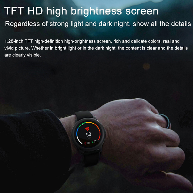 Xiaomi Haylou Solar Smart Watch Sport Heart Rate Sleep Monitor Fitness Tracker 2
