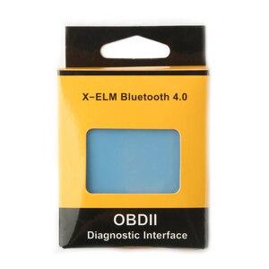 Image 5 - X ELM Bluetooth 4.0 ELM327 OBD2 אבחון סורקים רכב משאית OBD קוד Reader עבור קרייזלר קאיה דייהו אופל