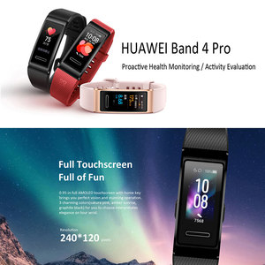 Image 3 - Huawei Band 4 Pro Smart Band Heart Rate Health Monitor Standalone GPS Proactive Health Monitoring Color Touchscreen Blood Oxygen