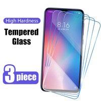3 pezzi di vetro protettivo per Xiaomi Mi 11 10 Lite 11i 10T Pro pellicola protettiva per Xiaomi Mi 9 9T A1 A2 A3 Lite 8 SE Mi11 Glass