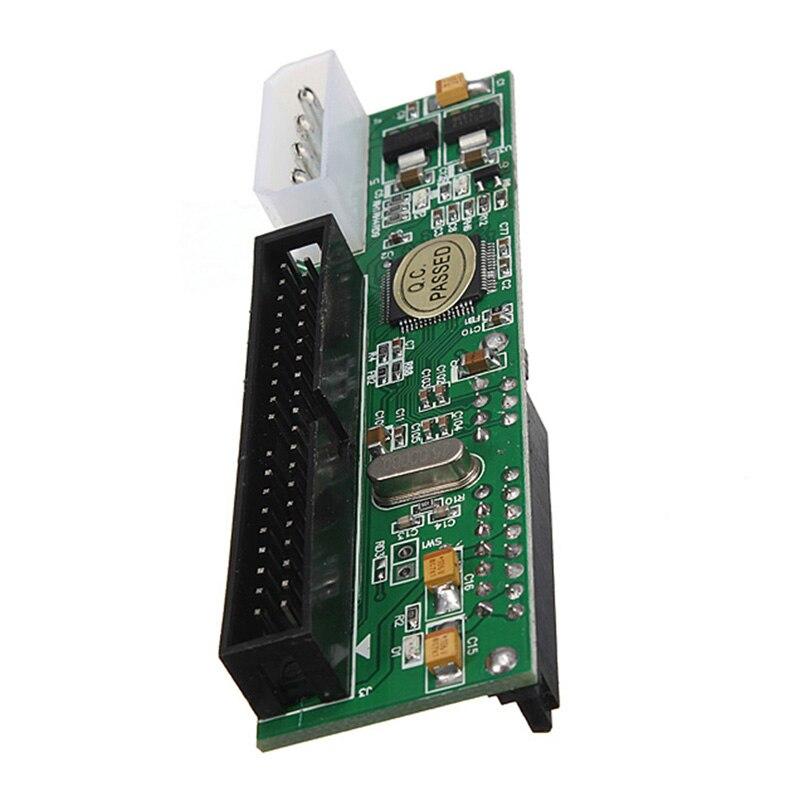 New 2.5/3.5 Inch Drive 40 Pin Serial ATA SATA To PATA IDE Card Adapter Converter