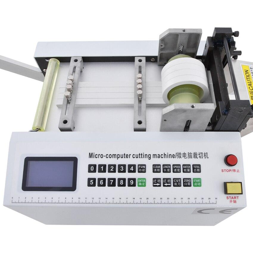 Máquina de corte automática quente HZX 100 da mangueira do pe do tubo do calor shrinkable da máquina de corte da tubulação do microcomputador 110 v/220 v 350 w 0 100mm - 3