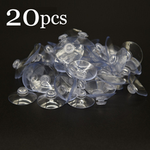 20PC 30&40mm Clear Nano Sucker Suction Cups Any Wide Window Improvement Transparent Mushroom Head Suckers Cup Button
