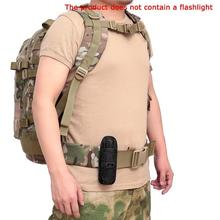Flashlight Beg Holster Portable Carrying Case Pouch Holder For Outdoor Lighting Made Of Durable Nylon Material