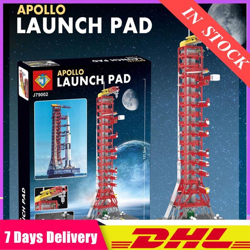 J79002 79002 Apollo Saturn V Launch Umbilical Tower Space Shuttle Expedition Sets Building Blocks  Compatible Legoinglys  21309