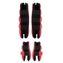 2 Pairs Tendon Boot & Fetlock Boots Breathable Anti-Slip Neoprene Lining