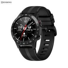 2019 New SENBONO M5 Smart Watch Waterproof Wearable Bluetooth Phone Call GPS sma