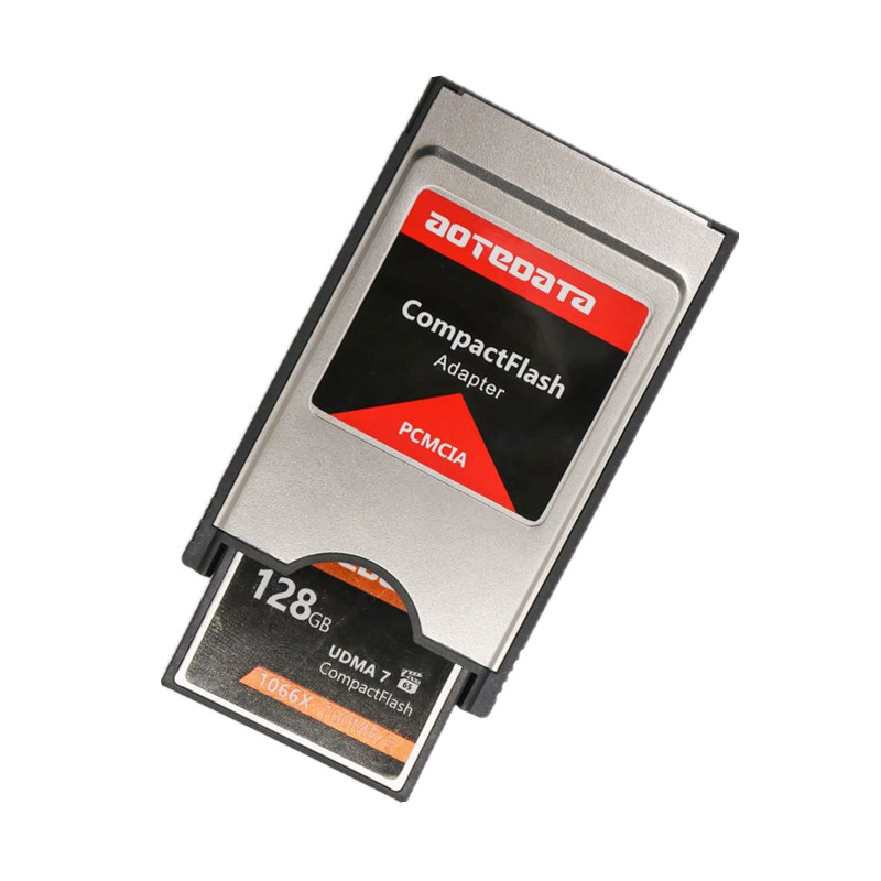 Original!!! Compact Flash CF To PC Card Adapter Cards Reader PC Card PCMCIA For Laptop Notebook