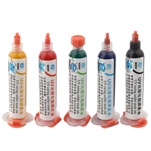 Solder-Mask Flux Bga 10CC Corrosive-Arcing UV PCB Paint Prevent Red/yellow