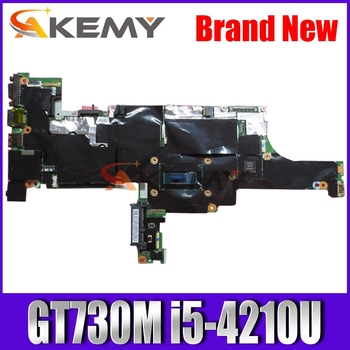 Akemy For Lenovo ThinkPad T440S laptop Mainboard NM-A052 Motherboard with GT730M i5-4210U T440S motherboard mainboard test OK