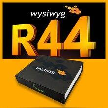 Wysiwyg r44 usb controlador dmx luzes dmx usb máquina de fumaça luz do estágio para discoteca mostra rgb fase a laser update2 r44 dongle