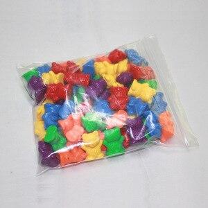 Image 4 - Montessori Lote de 12 unidades de osos de conteo de 6 colores, juguetes educativos para niños pequeños, clasificación de color, herramientas de aprendizaje de matemáticas