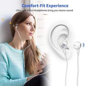 Image 5 - Usb tipo c google chip fones de ouvido magnético esportes estéreo fone com controle com fio para huawei p30 companheiro 20 pro xiaomi 8 samsung