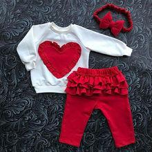 Emmababy комплект одежды из 3 предметов для маленьких девочек, Осенний хлопковый свитер с длинными рукавами Топы, штаны повязка на голову