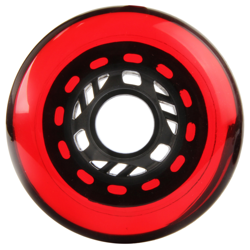 Original Transparent 90A Slide Wheel For Roller Skates Patines Sliding Shift Drift Skating Wheel For SEBA HV HL High KSJ IGOR 80