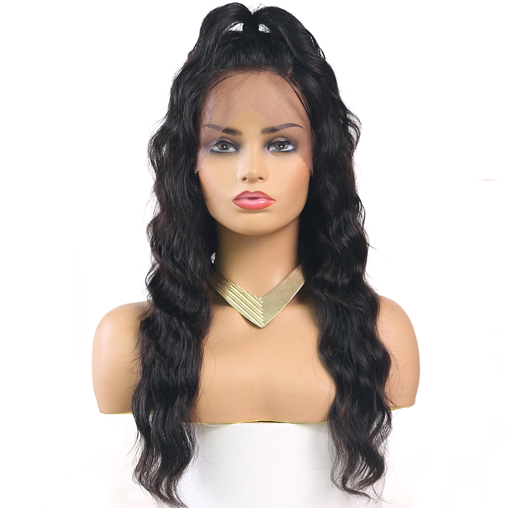 Lace Front Wig Brazilian Remy Human Hair Wigs Natural Color Pre-Plucked Loose Deep Lace Fontal Wig With Hairline Euphoria