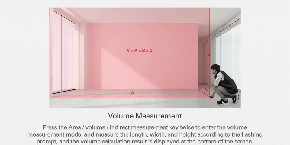 Volume measurement