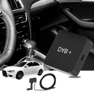 Image 5 - Car Kit Digital Audio Broadcast DAB DAB+ Box Radio Receiver Adapter with Antenna for Android Digital Radio Receiver