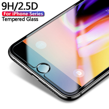 цена на Tempered Glass For iPhone 7 6s xs max xr x Protective glass iPhone 8 6s Plus Screen Protector glass on iPhone 6 6s 5s 7 8 Plus