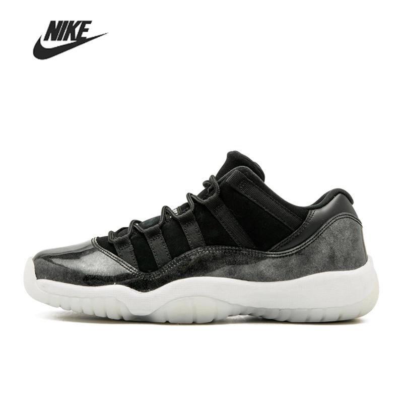 Nike Air Jordan 11 Retro Low Barons 528895-010 Basketball Men Shoes Unisex Women Outdoor Sports Sneakers