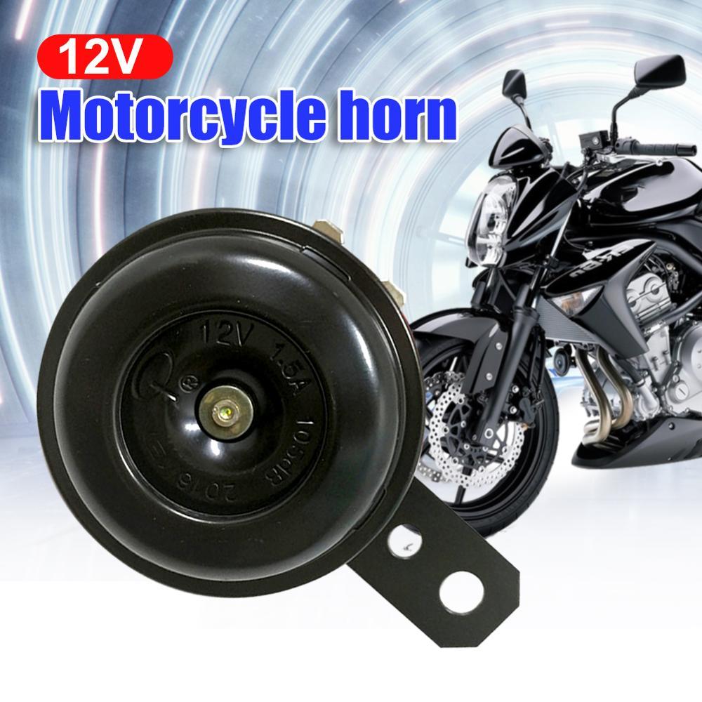 12V Loud 105db Motorcycle Car Electric Bike ATV Horn Waterproof Universal Mopeds