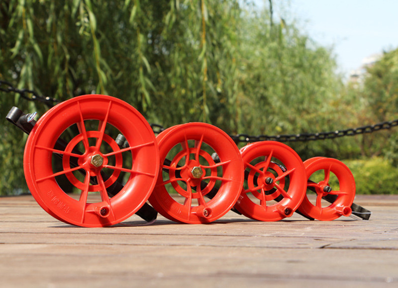 50M/100M Kite Wheel Line Twisted String Line Red Wheel Kite Reel Winder Flying Toys For Children Kites Accessories Outdoor Play