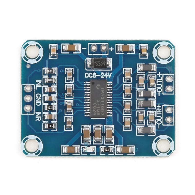 2X15W Digital Audio Stereo Amplifier Module Board TPA3110 Class D Power AMP Stereo Speaker Amplifier