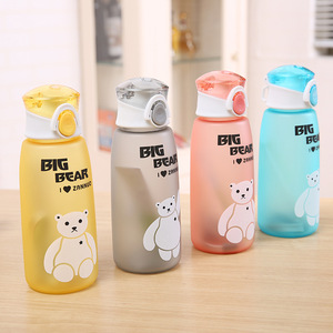 Image 1 - 500ml Water Bottle Leakproof Material My Sports Drink Top Quality Tour hiking Portable Climbing Camp Bottles H1016