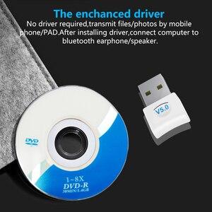Image 4 - Usb Bluetooth 4.0 Adapter Dongle Voor Pc Computer Laptop Draadloze Muziek Audio Speaker Oortelefoon Ontvanger Zender Transmisor