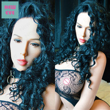 163 ซม.(5.35ft) ซิลิโคนตุ๊กตาสำหรับเพศหน้าอกใหญ่และใหญ่ตูดเลือดผสม Stripper เหมือนจริงของเล่นคุณภาพสูง