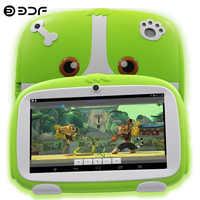 7 pulgadas Android Tablet Pc wifi niños tabletas Quad Core Google Play Android 8,0 Bluetooth WIFI 16G ROM niños favoritos regalos