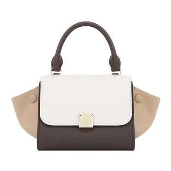 Famous Designer Women Purse and Handbags 2020 New Bat Wings Panelled Portable Female Bag Large Capacity Shoulder Messenger Bag