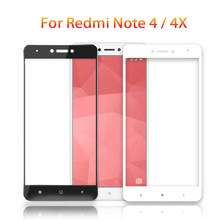 الزجاج المقسى ل xiaomi redmi note 4X4 زجاج واقي ل xiaomi redmi note 4 X4 حماية شاشة protecter كامل حالة فيلم(China)