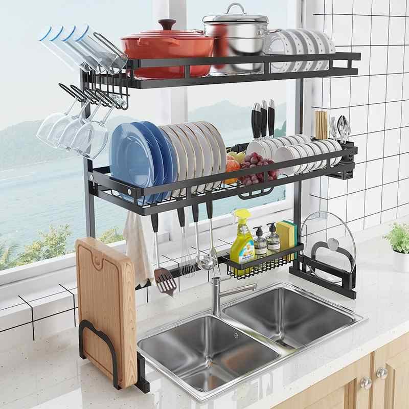 Dishes Rack Steady Sink Drain