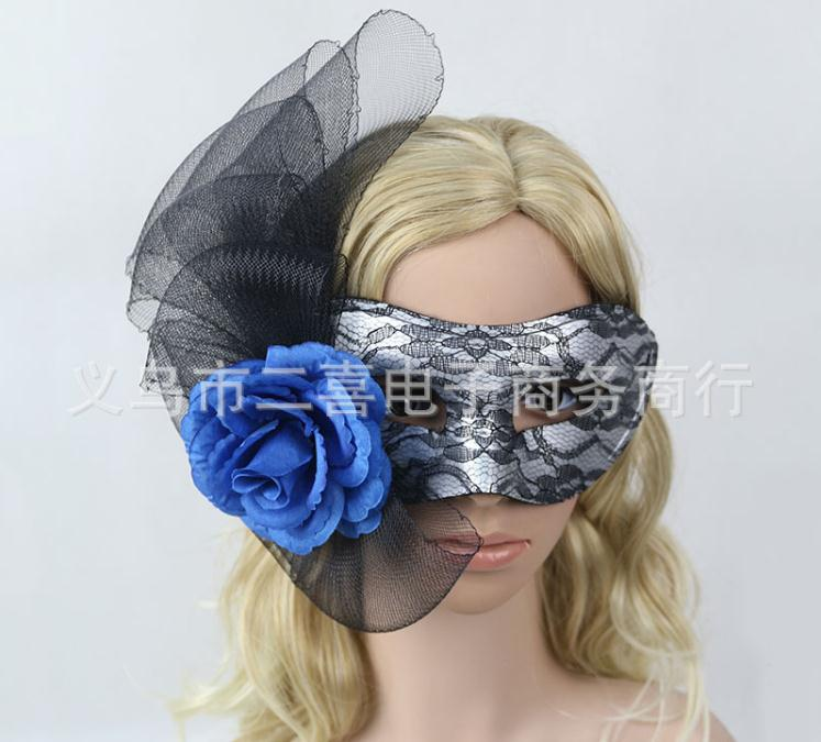 Masquerade Feather Mask 2019 Women Black Lace Eye Face Mask Party Ball Prom Venetian Halloween Costume Party Masks Drop Ship