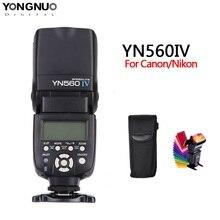 용인 YN560 iv YN560IV 캐논 니콘 올림푸스 펜탁스 소니 카메라에 통합 된 2.4GHZ 무선 플래시 스피드 라이트 트랜시버