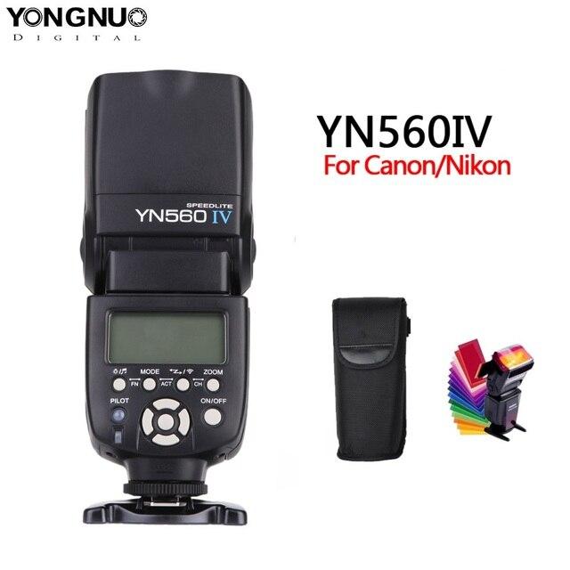 Yongnuo YN560 Iv YN560IV 2.4GHZ Không Dây Đèn Flash Thu Phát Tích Hợp Cho Canon Nikon Olympus Pentax Sony Camera