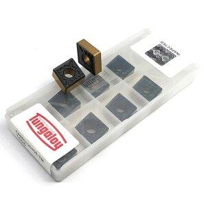 Image 2 - Tungaloy Herramienta de torneado externo para máquina, Tungaloy CNMG120408 TM T4225, dos cúter de color, CNMG 120408 CNC, herramientas de corte de torno, 10 Uds.