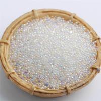 0.6 1.0mm 450g Fashion New Shiny Crystal AB Glass Caviar Elf Beads Rhinestone DIY Nail Jewelry Decoration Accessories
