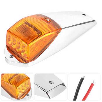 Światła kopułowe LED kabiny dachowe światło znacznikowe do przyczep ciężarowych ciągniki autobus samochód akcesoria samochodowe tanie i dobre opinie CN (pochodzenie) Dome Light Cab Roof Marker Light Car Cab Roof Marker Light LED Dome Light Car Dome Light