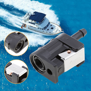6mm Female Fuel Line Connector Engine Side Outboard Motor Fuel Pipe Fuel Line Connector Plastic for Yamaha outboard motor 7mm(China)