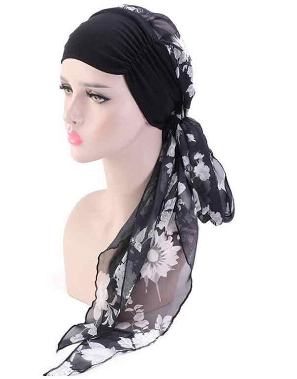 Chemo Headwear Turbans for Women Long Hair Head Scarf Headwraps Cancer Hats