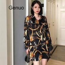 Fashion Casual PLUS Size Blouses Women 2020 Spring Chiffon Blouse Three Quarter Sleeve Loose Tops