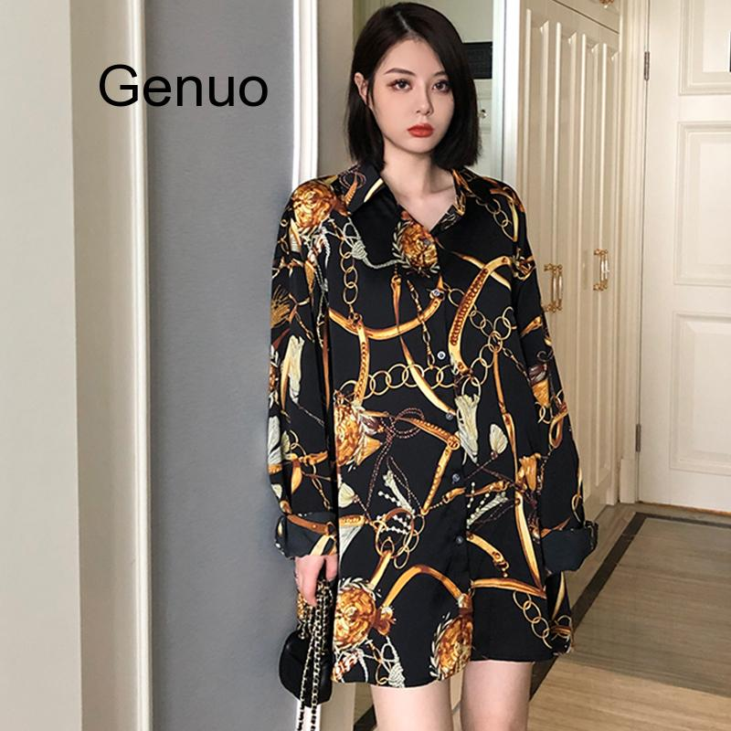 Fashion Casual PLUS Size Blouses Women 2020 Spring Chiffon Blouse Three Quarter Sleeve Loose Tops Shirts Blusas Mujer