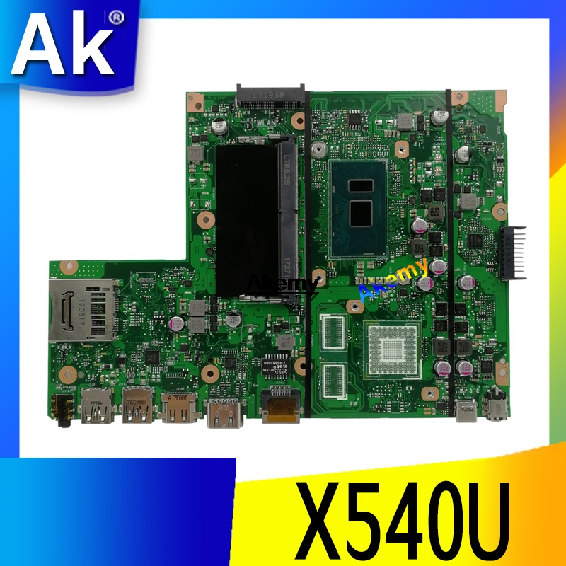 Exchange Service Laptop Motherboard For ASUS X540U X540UA X540UV Mainboard PM / GM