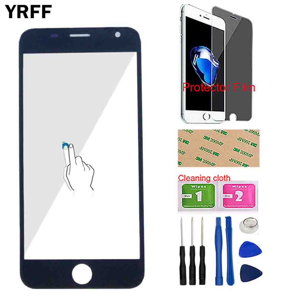 Touch Screen For Prestigio Grace R7 PSP 7501DUO PSP7501 Duo 7501 ( No Touch Panel) Front Outer Glass Sensor Digitizer Tools