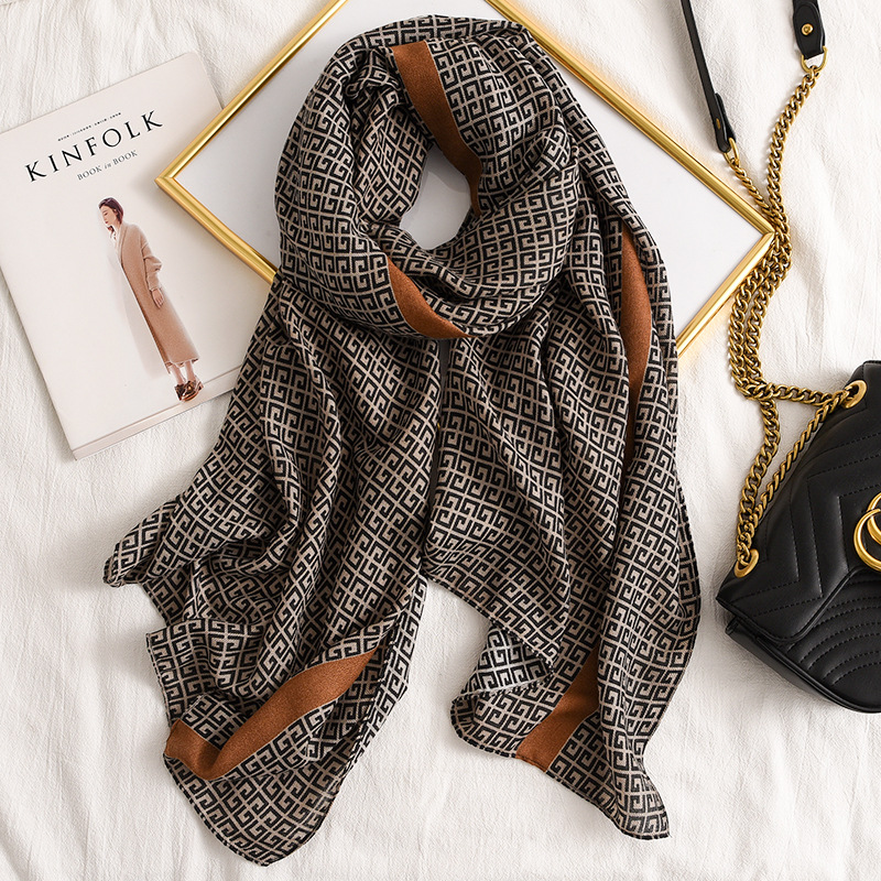 Fashion design 2020 women cotton long   Scarf   high quality Ladies Winter Warm Soft Shawls   Wraps   Unisex   Scarves